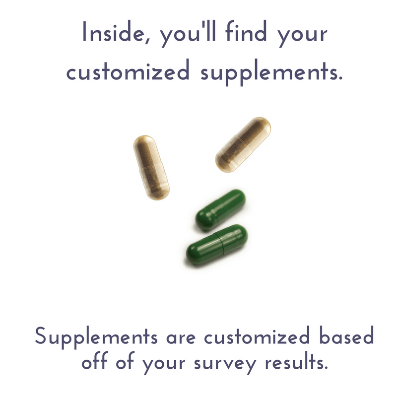 Meet the day-pack! This is how your supplements are packaged. (3)