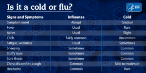 Is It a Cold or the Flu?