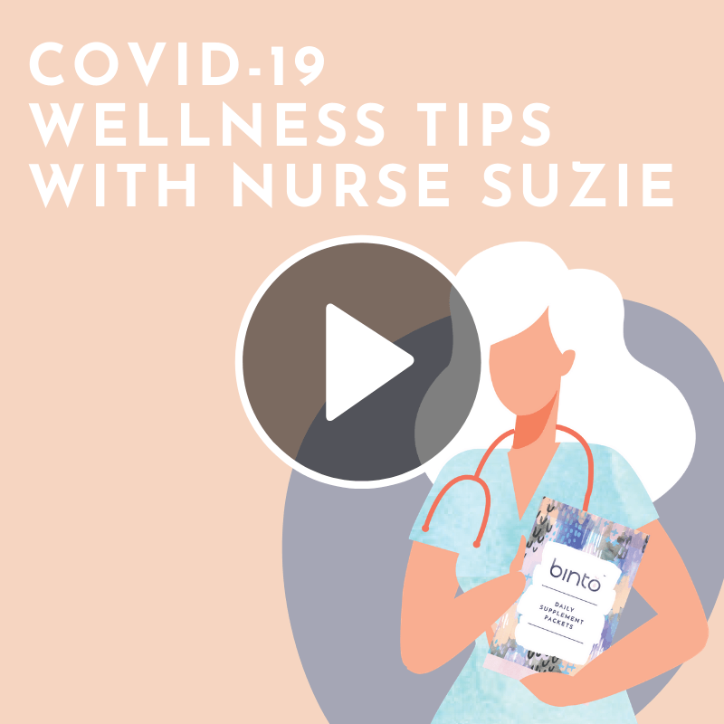 Covid-19 wellness tips video