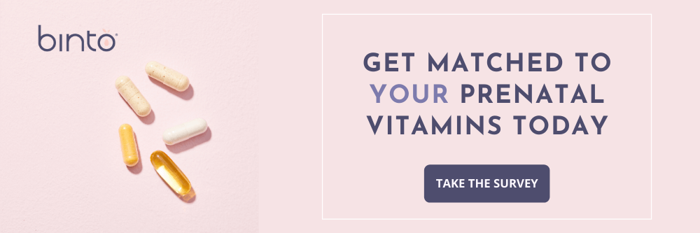 Link to take the survey to get your binto vitamins